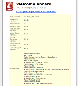 Sample install from Rails v3 installed using Ruby 1.8